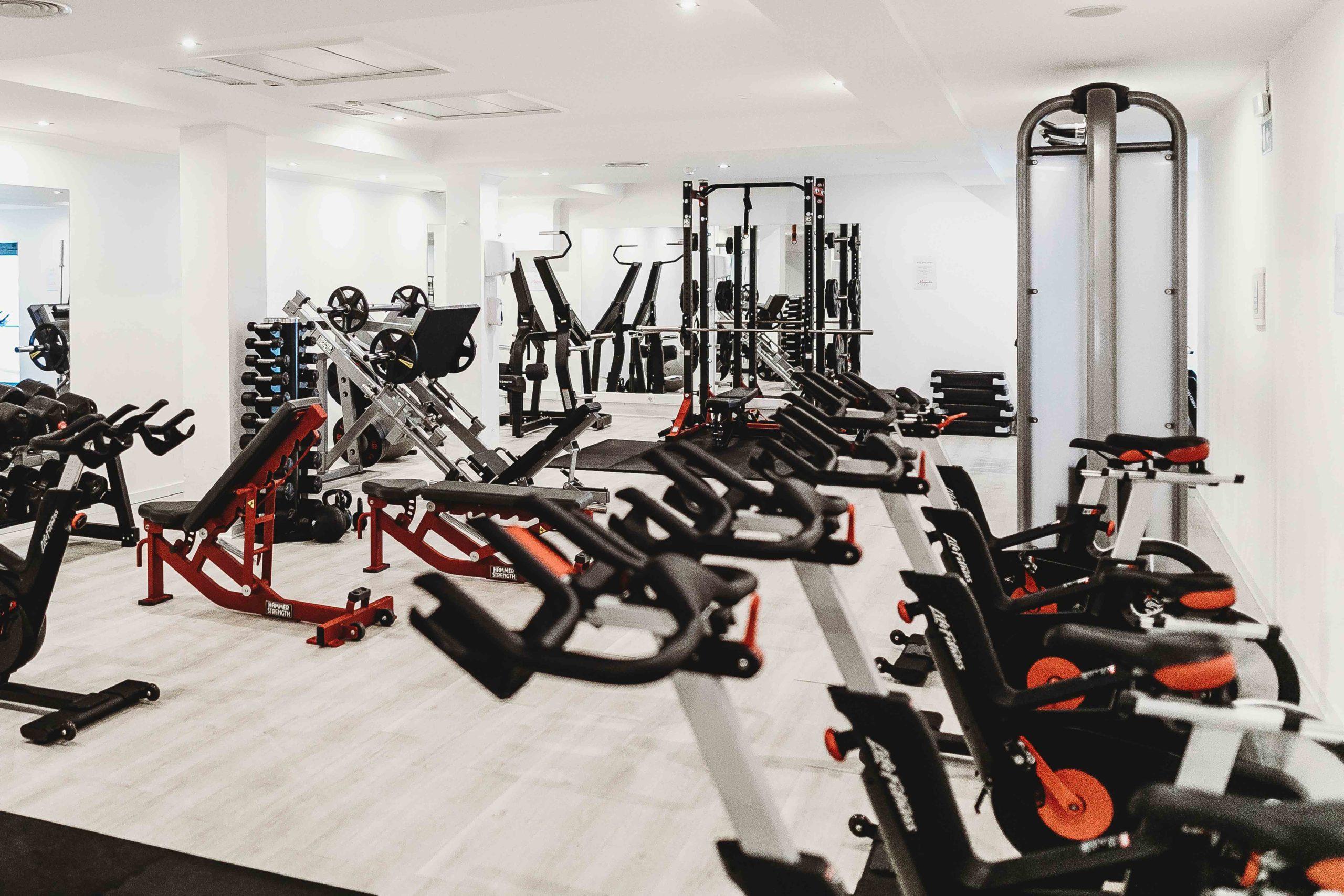 健身中心清潔